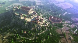 The Acropolis of Athens Minecraft Project
