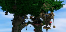 """Arbres"", a sheepwars map [Epicube] Minecraft Project"