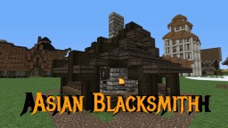 Asian Blacksmith Minecraft Map & Project