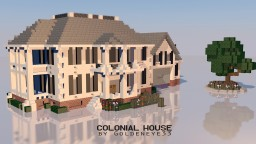Colonial House | Full Furnished | RP Minecraft Map & Project
