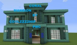 Minecraft Coral Mansion Fully Finished Minecraft