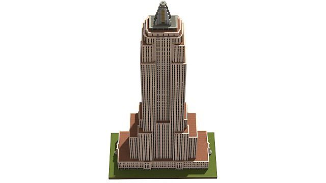 Minecraft Scale Empire State Building