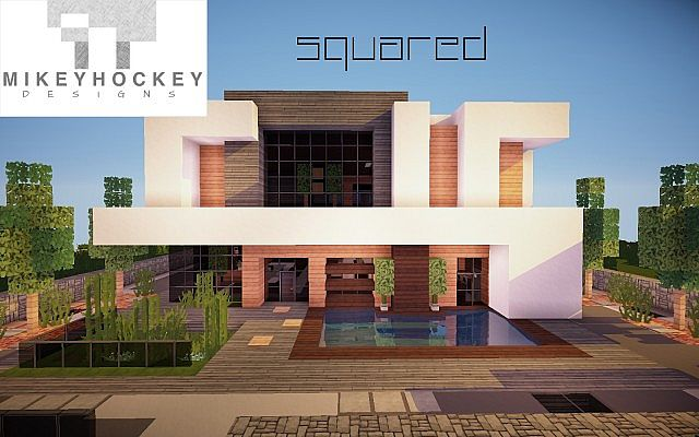 Squared modern minecraft project for Minecraft modernes haus download 1 7 2