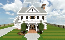 Georgian Home | Cubed Creative Minecraft Project