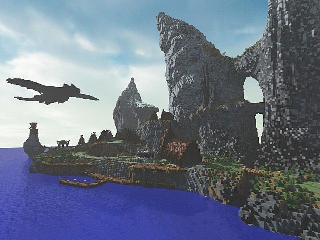 How to train your dragon isle of berk minecraft project how to train your dragon isle of berk ccuart Images