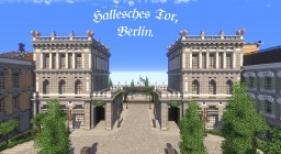 Hallesches Tor, Berlin. Minecraft Map & Project