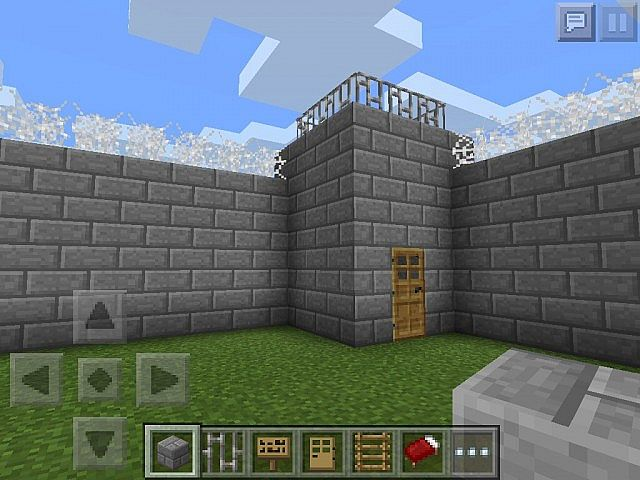 How To Build A Jail In Minecraft Pe
