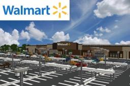 Walmart Store Minecraft Map & Project