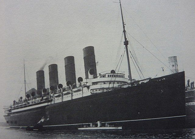 Rms Mauretania Outdated Minecraft Project