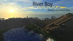 River Boy (Modern Waterfall Cabin) Minecraft