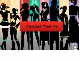 Vocaloid Pixel Art