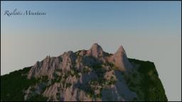 Realistic Mountain Terrain Minecraft