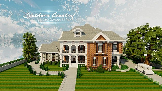 Southern Country House TMB WIP Minecraft Project