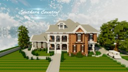 Southern Country House | TMB | WIP Minecraft Map & Project