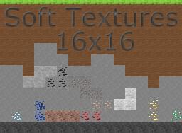 Soft textures 16x16 + MCPE Minecraft Texture Pack