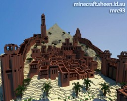 Red Desert City Minecraft Map & Project