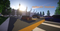 Hollandia tullip, a modern stadium Minecraft Map & Project