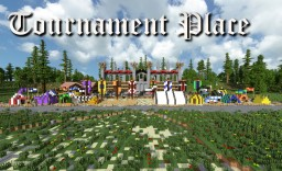 Medieval Tournament Place - fight for honor & glory Minecraft Project