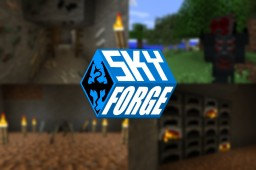 SkyForge Resurrected! [Skyrim Mod] Great Textures and Epic Weapons! Minecraft