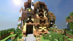 Western fantacy House Minecraft Project
