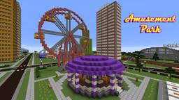Amusement Park Minecraft Map & Project
