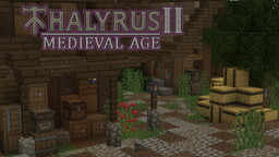 Thalyrus II Medieval Age (x32) Minecraft Texture Pack