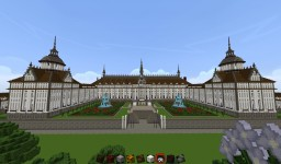 Gothic Palace Minecraft Map & Project