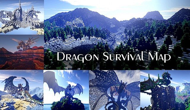 UPDATE Dragon Survival Map Download Minecraft Project - Mapas survival para minecraft 1 11 2