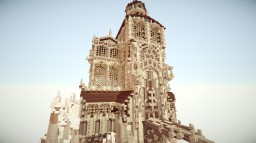 Alexander's Cathedral - Fully Finished Inside and Out Minecraft