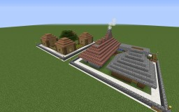 Created Houses Minecraft Project