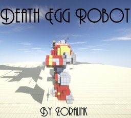 Sonic 2-Death Egg Robot (Weaponized! >:D) Minecraft Map & Project