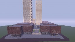 1:1 The World Trade Center Complex by LiamR99 Minecraft