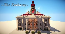 ~The Embassy~ | A Trip into Neoclassicalism Minecraft