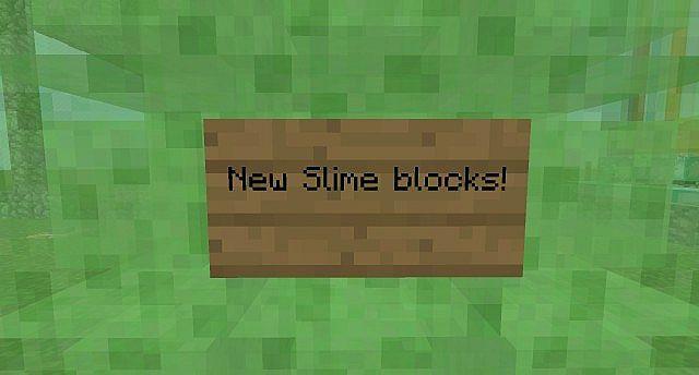 New Slime Blocks!