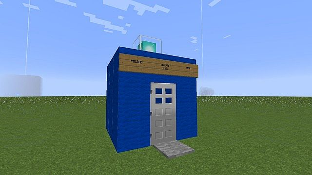 how to build a tardis in minecraft no mods