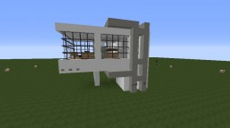 [MrCrayfish's Furniture Mod] W: A Modern House Minecraft Project