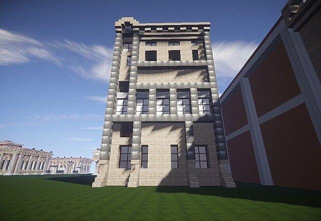 European Townhouse Minecraft Project