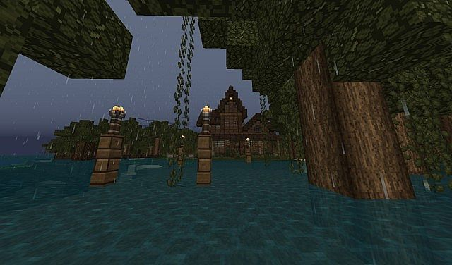 Swamp House Minecraft Project