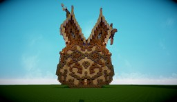 "Strange house [Skrill""s Rabbit Challenge] :D Minecraft Project"