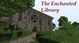 The Enchanted Library Minecraft Map & Project