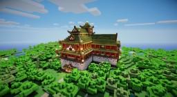 Mizu Umi Palace Minecraft Map & Project