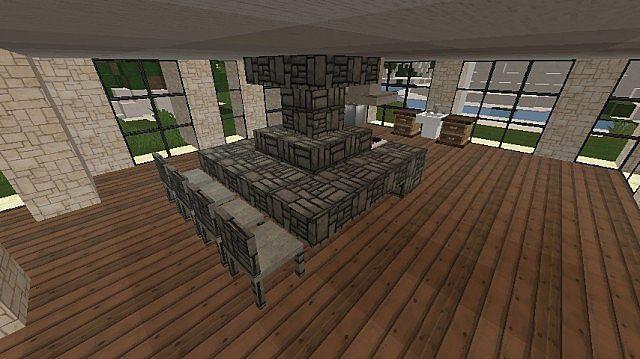 Mrcrayfish 39 S Furniture Mod Luxurious Modern House Minecraft Project