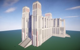 Modern Cathedral Minecraft