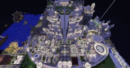 Minas Tirith - Lord Of The Rings City Minecraft Map & Project