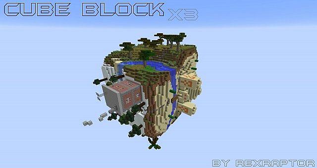 Cube Block x3 Wallpaper