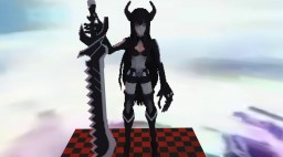 Black Gold Saw - Black Rock Shooter
