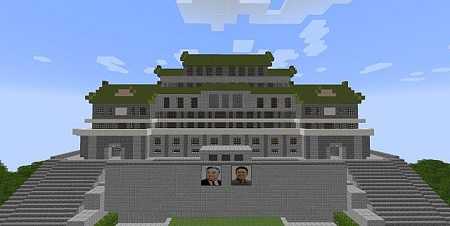 Minecraft Kim Il Sung Square Minecraft Project  Minecraft Kim I...