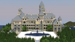 Manor of the Great Gatsby Minecraft Map & Project