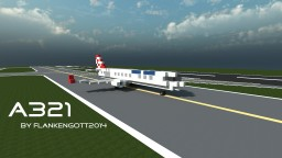 Airbus A321 Minecraft Map & Project