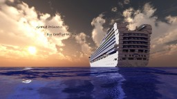 Grand Princess 1:1 Scale Cruise Ship  [+Download] Minecraft Map & Project